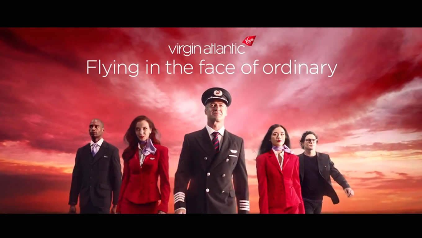 Airline Advertising Campaign of Virgin Atlantic, Flying in The Face of Ordinary