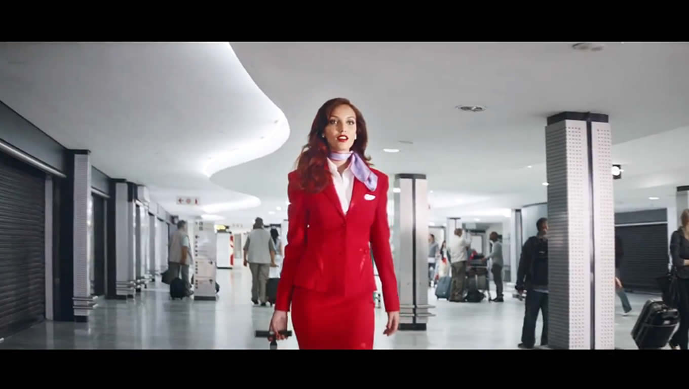 Airline Advertising Campaign of Virgin Atlantic, The Cabin Crew