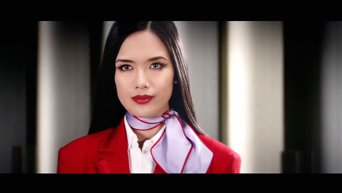 Airline Advertising Campaign of Virgin Atlantic, The Ground Staff