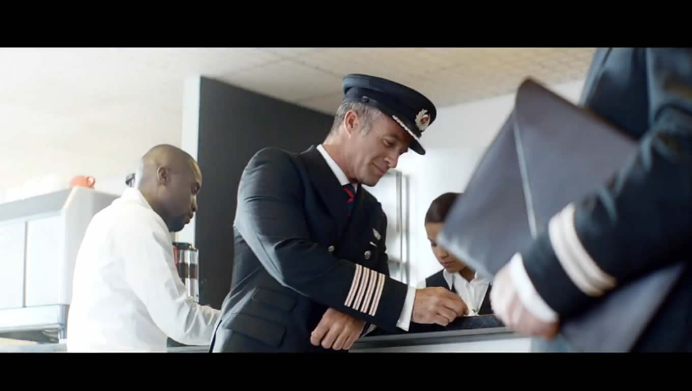 Airline Advertising Campaign of Virgin Atlantic, The Leading Pilot