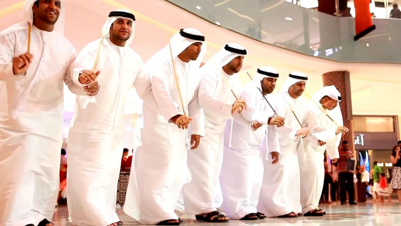Arabian Choir Performance at Eid in Dubai Event Celebration