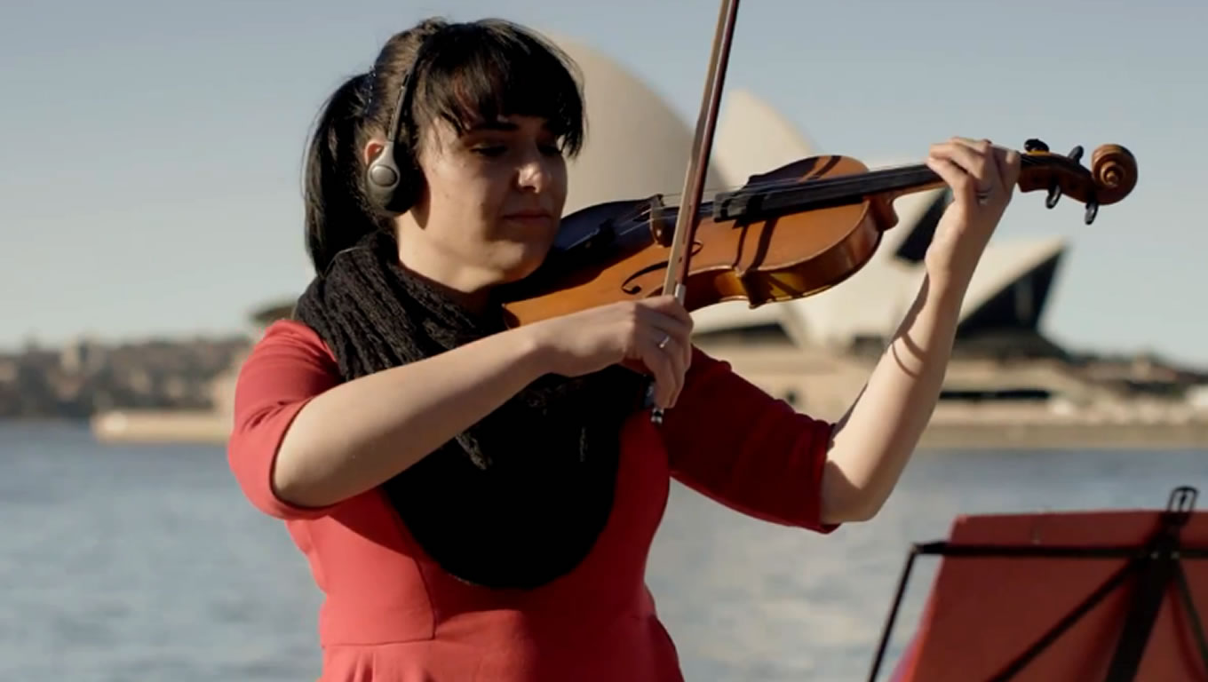 Australia Musicians at Harmony Marketing Campaign by Emirates