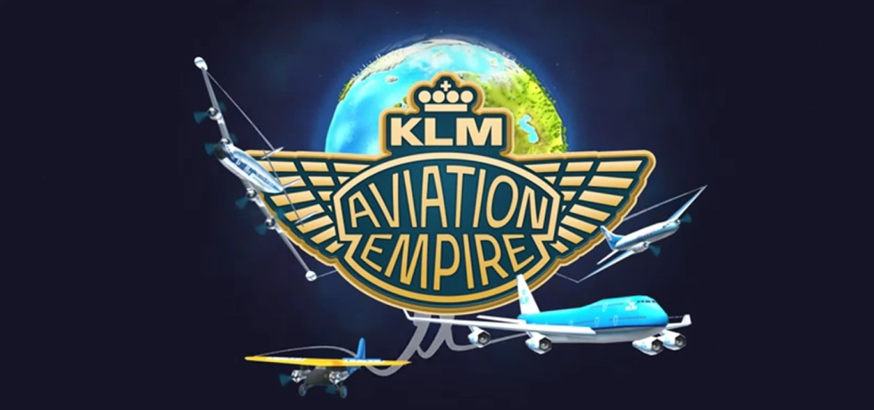 Aviation Empire Travel App as Brand Advertising Campaign Tool by KLM Netherlands