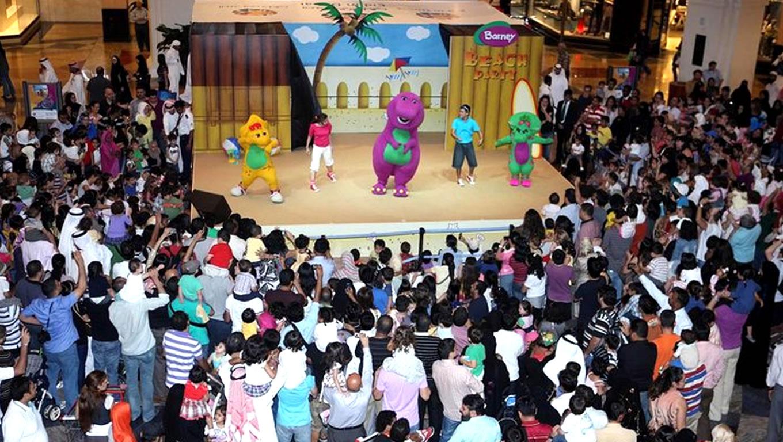Barney Beach Party at Eid in Dubai Event Celebration