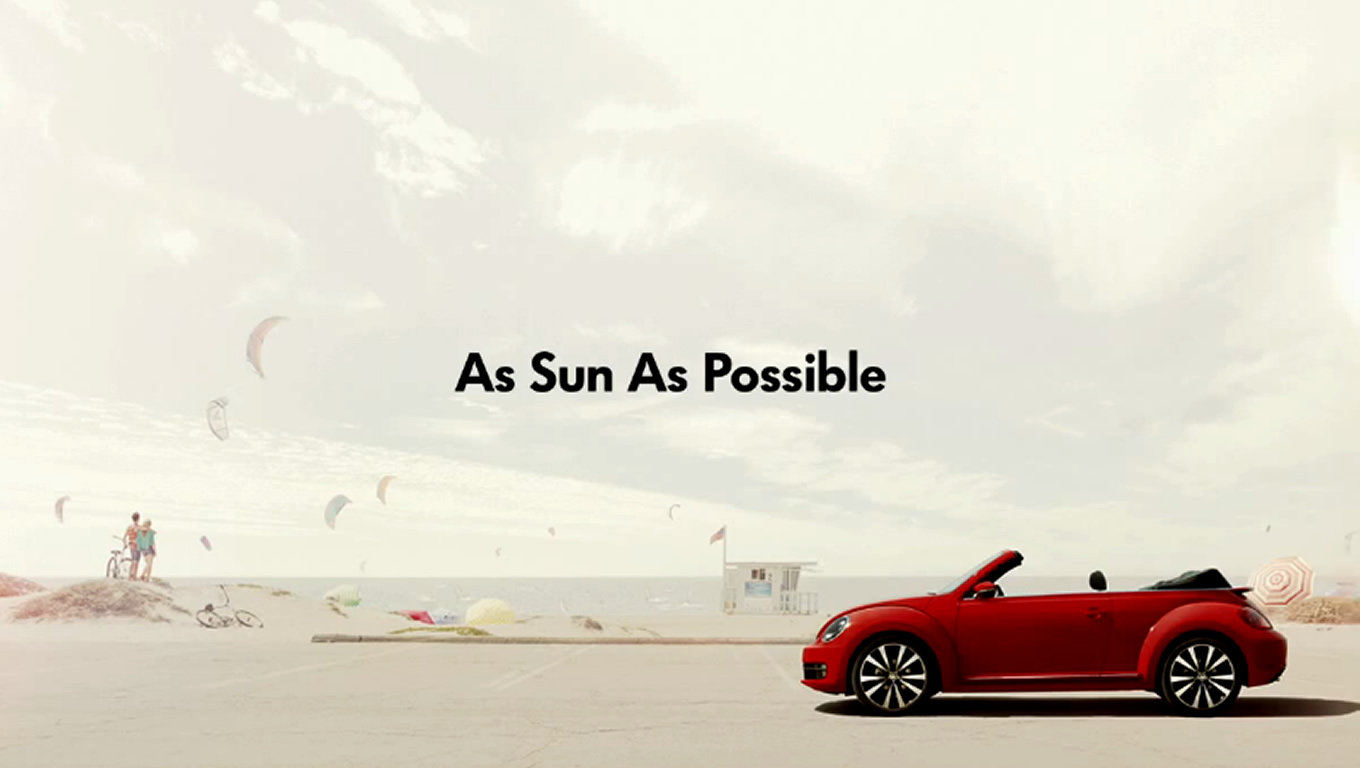 Beetle Cabriolet As Soon As Possible Marketing Campaign by Volkswagen