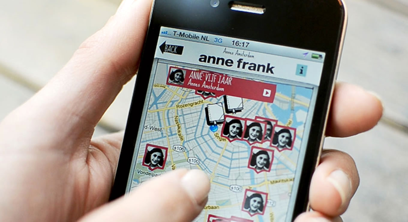 City Tour Guides of Anne Frank House Museum Campaign, Amsterdam