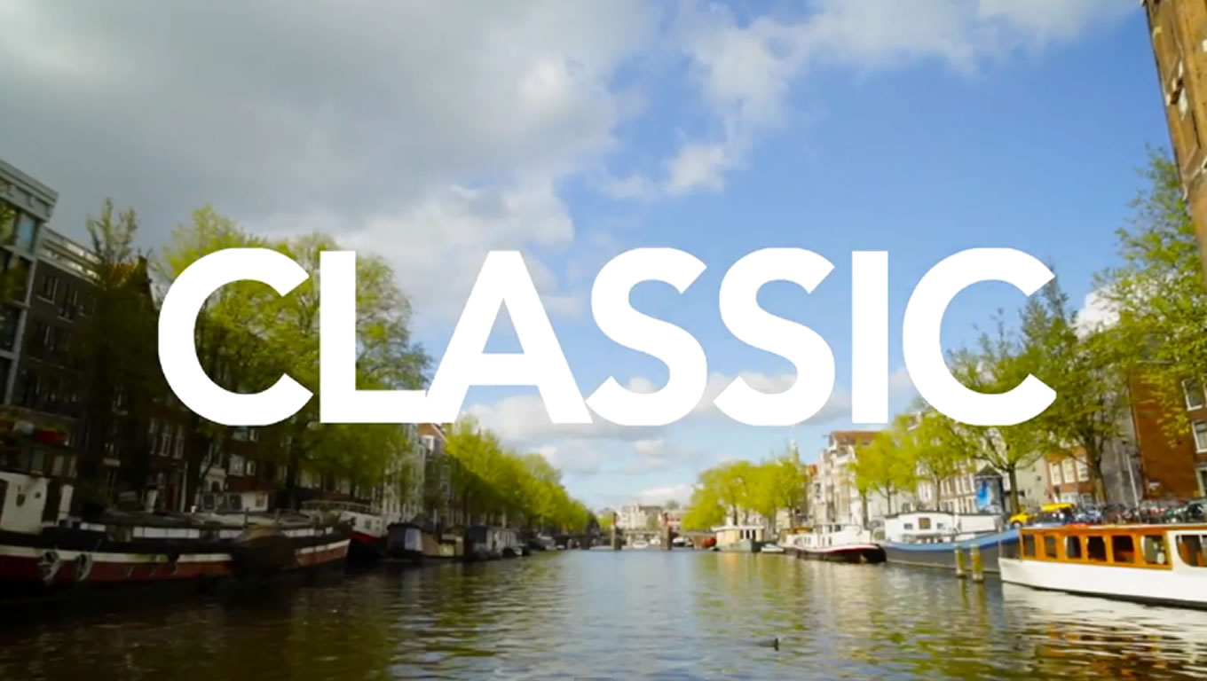 Classic Amsterdam at Holland The Original Cool Marketing Campaign of Netherlands
