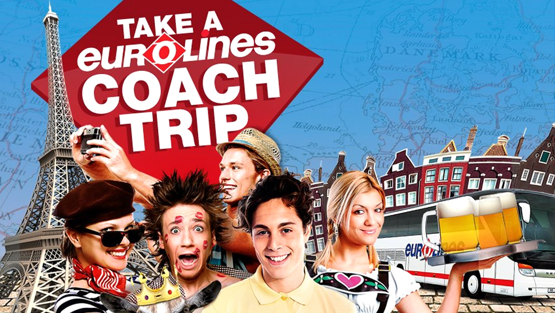 Coach Trip Marketing Campaign by Eurolines UK