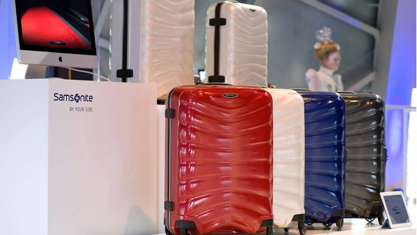 Cubelite Travel Luggage Series for Samsonite By Your Side Marketing Campaign