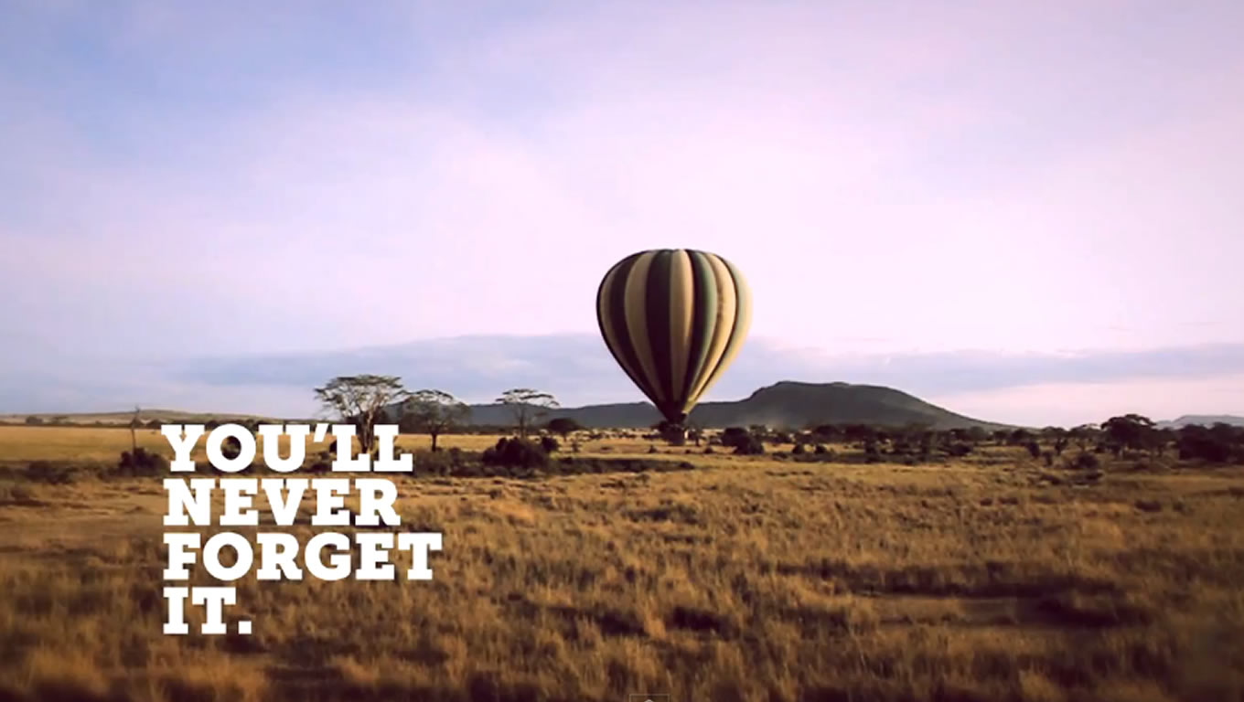 Destination Africa, You Will Never Forget It Marketing Campaign by G Adventures