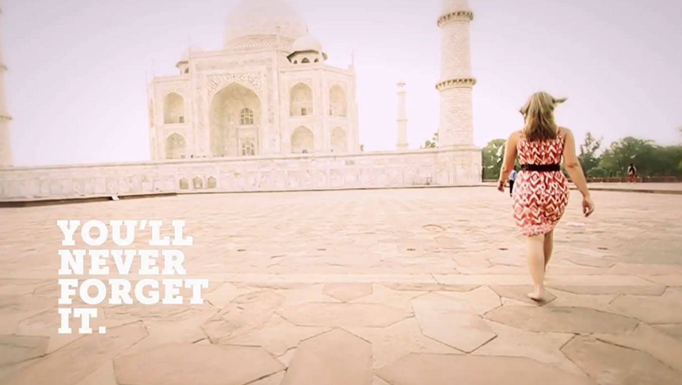 Destination Asia, You Will Never Forget It Marketing Campaign by G Adventures