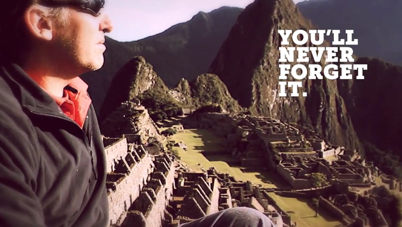 Destination South America, You Will Never Forget It Marketing Campaign by G Adventures