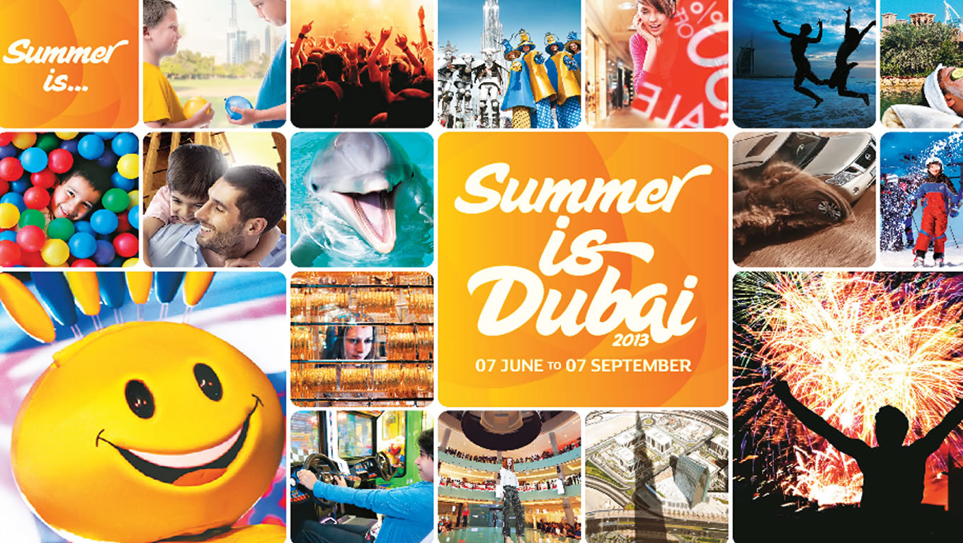 Digital Initiatives for Summer is Dubai Tourism Marketing Campaign by DTCM