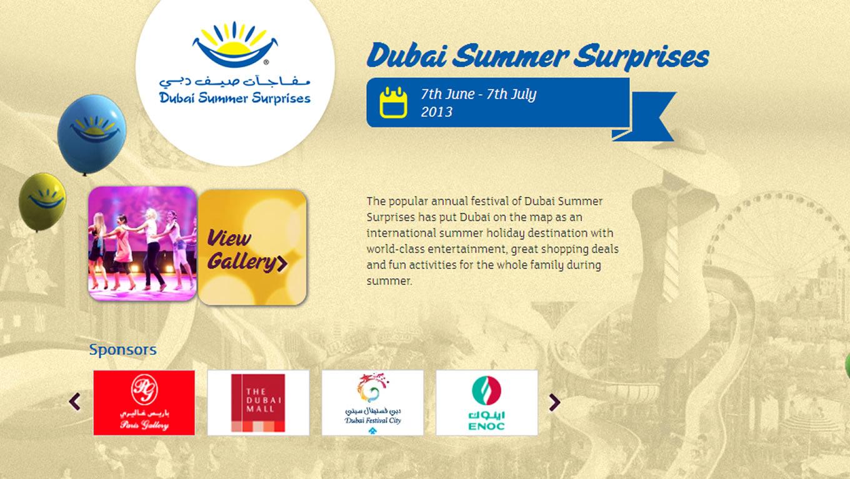 Dubai Summer Surprises for Summer is Dubai Tourism Marketing Campaign by DTCM