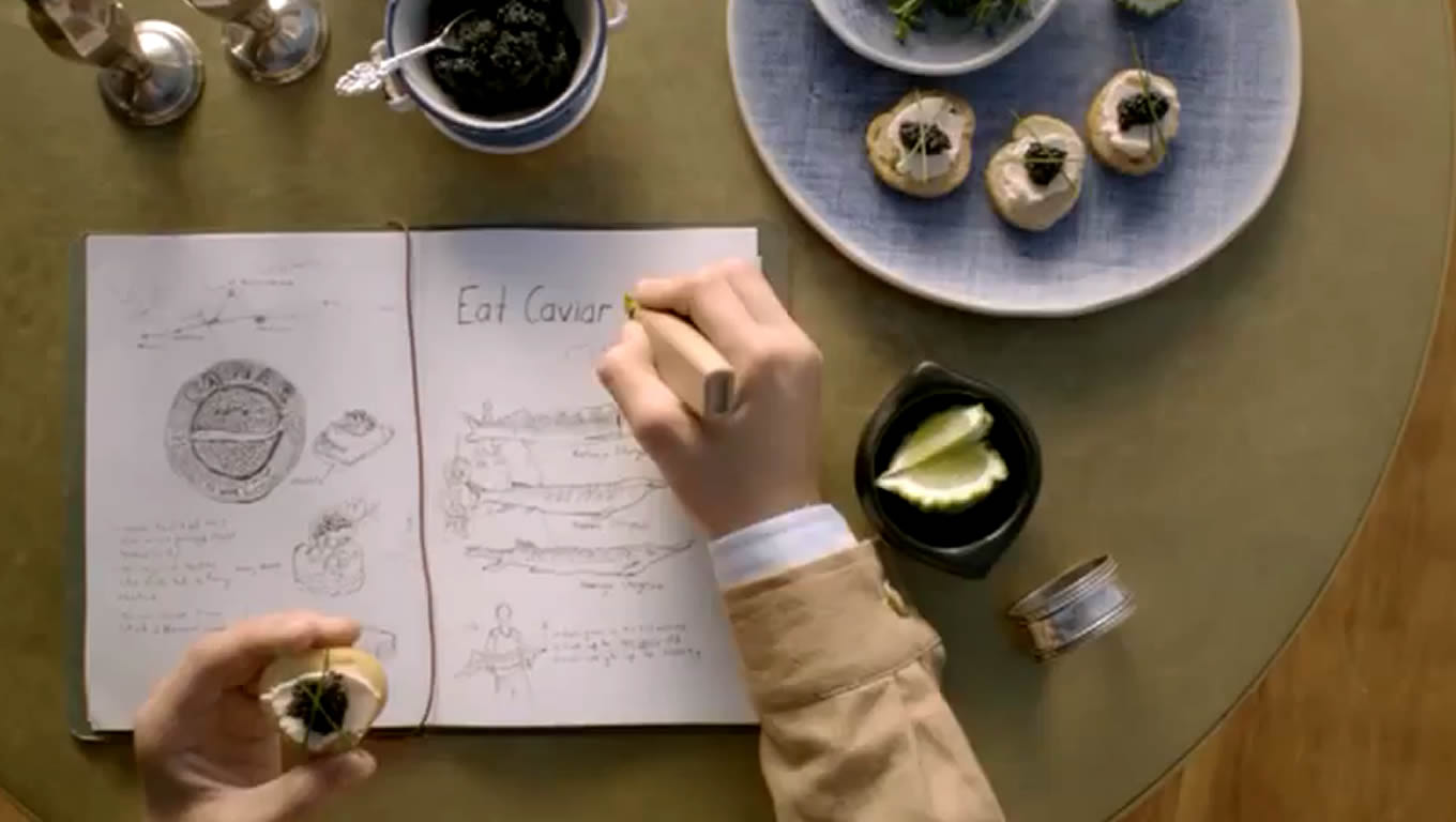 Eat Caviar, Out There Starts Here Marketing Campaign by Expedia Australia
