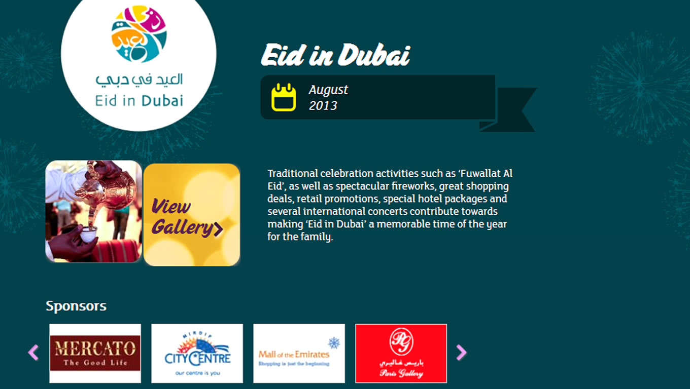 Eid in Dubai for Summer is Dubai Tourism Marketing Campaign by DTCM