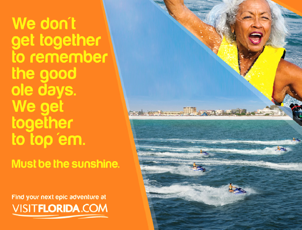 Epic Adventure, Out of Home Tourism Brand Advertising Campaign by Visit Florida