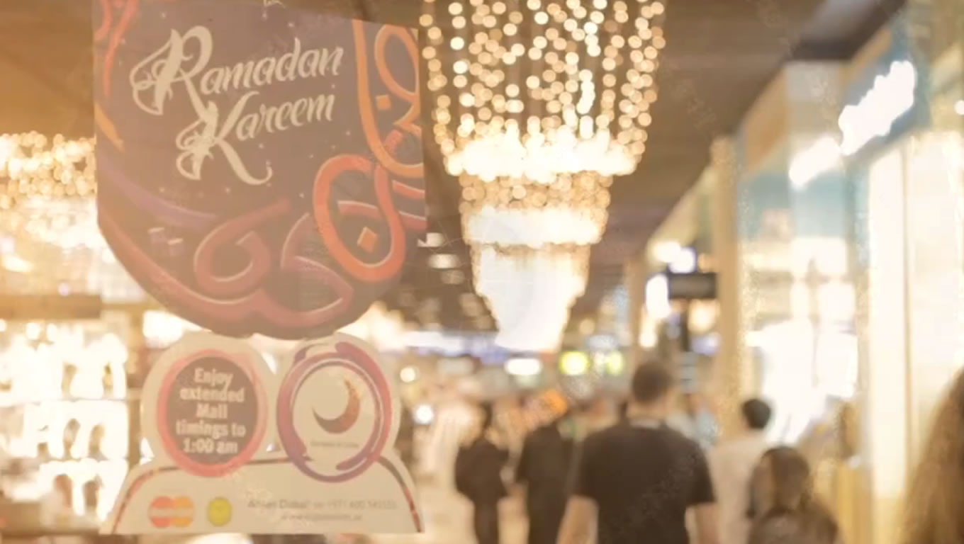 Extended Opening Time for Mall on Ramadan in Dubai