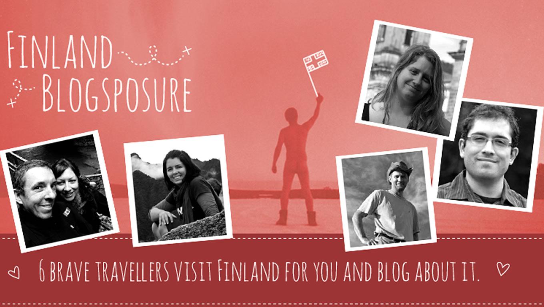 Finland Blogsposure Facebook App Marketing Campaign by Visit Finland