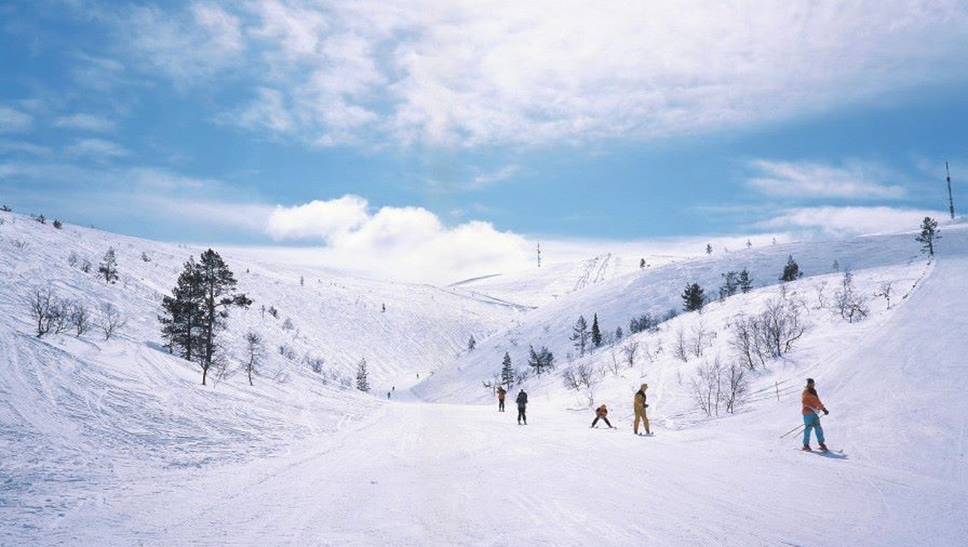 Finland Cross Country Skiing Tracks for Winter Travel Destination by Visit Finland