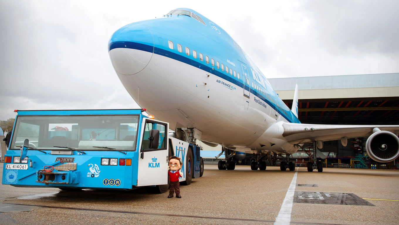 Flynt Visit The KLM Engineering and Maintenance Facility