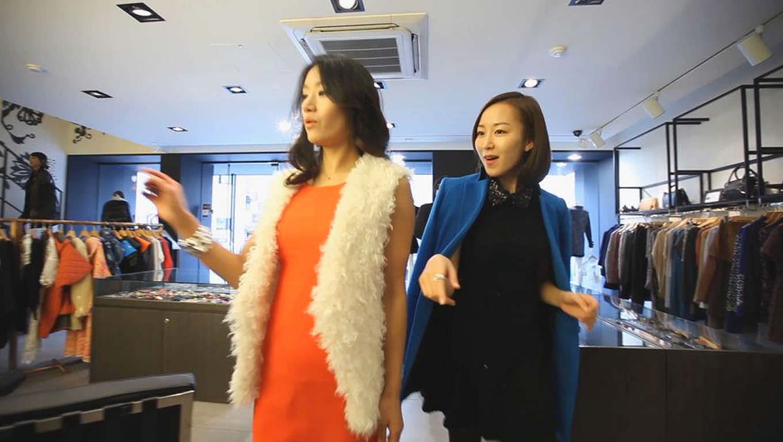 Gangnam as Fashion District Travel Destination in Seoul, South Korea