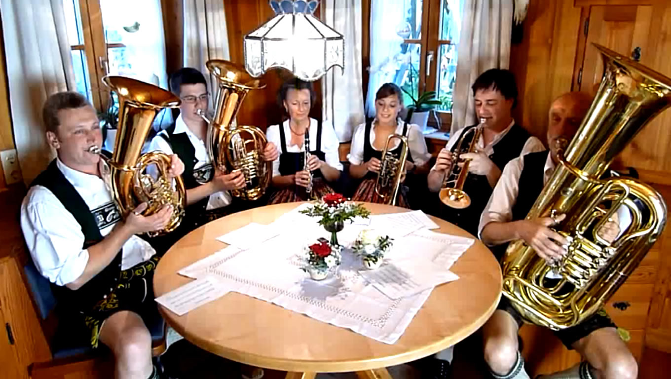 German Musicians at Harmony Marketing Campaign by Emirates