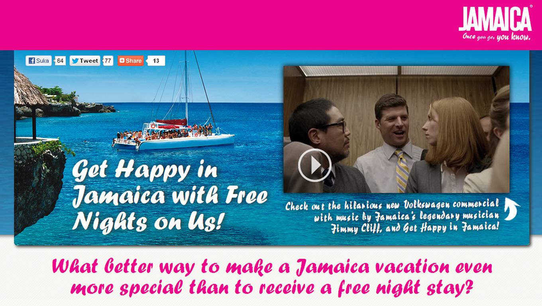 Get Happy In Jamaica Destination Marketing Campaign by Jamaica Tourist Board