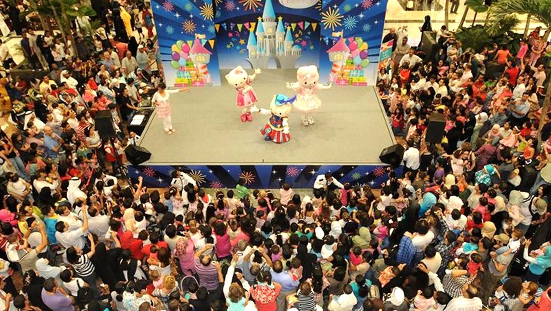 Hello Kitty Show at Eid in Dubai Event Celebration
