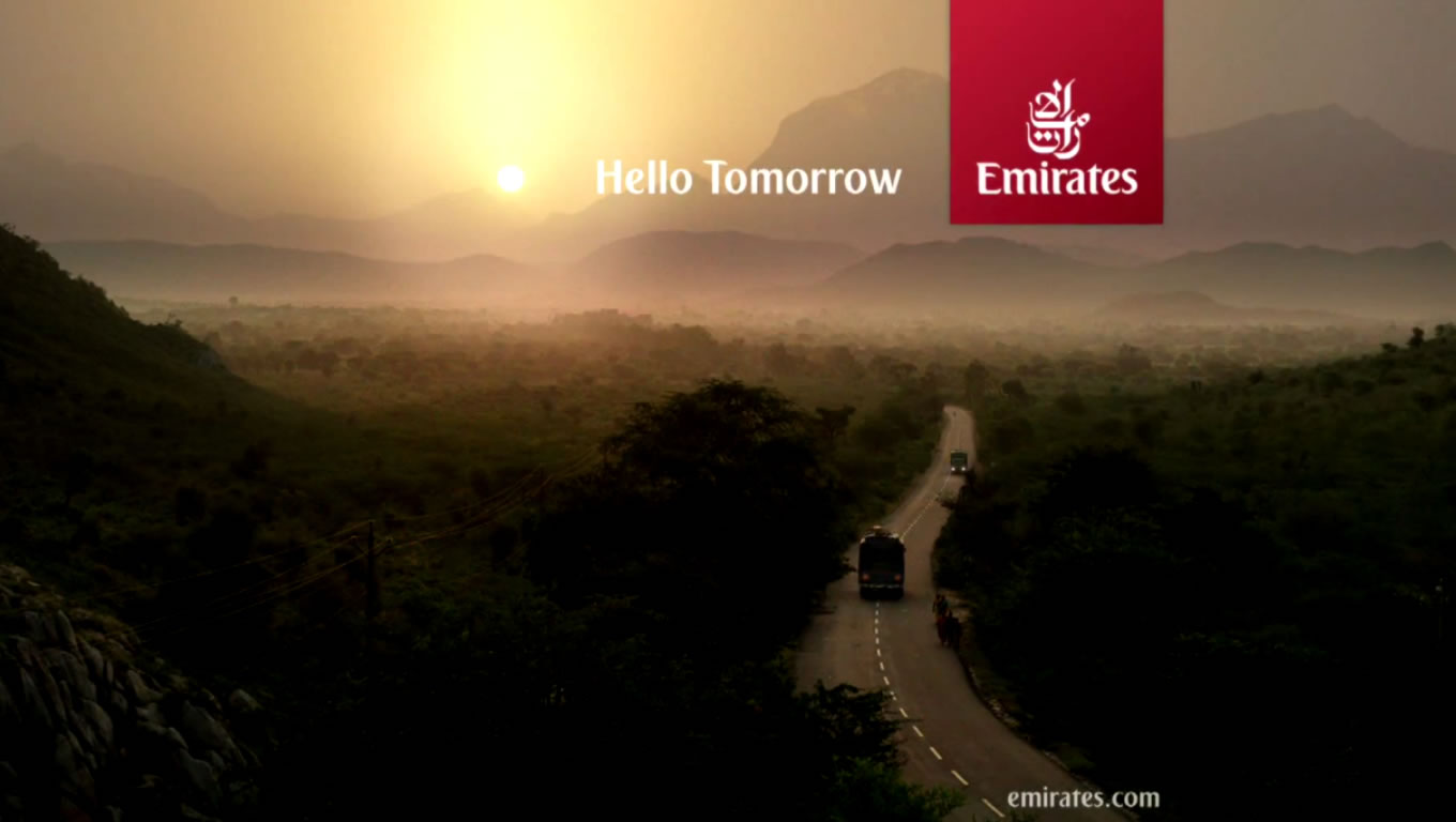 Hello Tomorrow Brand Marketing Campaign by Emirates Airlines