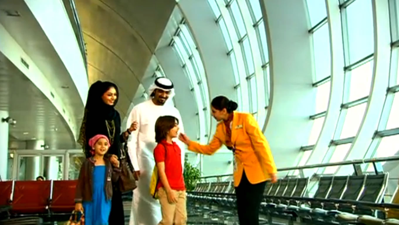 Hospitality TV Commercial Advertising Campaign of Definitely Dubai in 2010