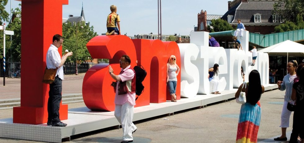 Iconic I amsterdam Sign as Viral Marketing Tools of Netherlands