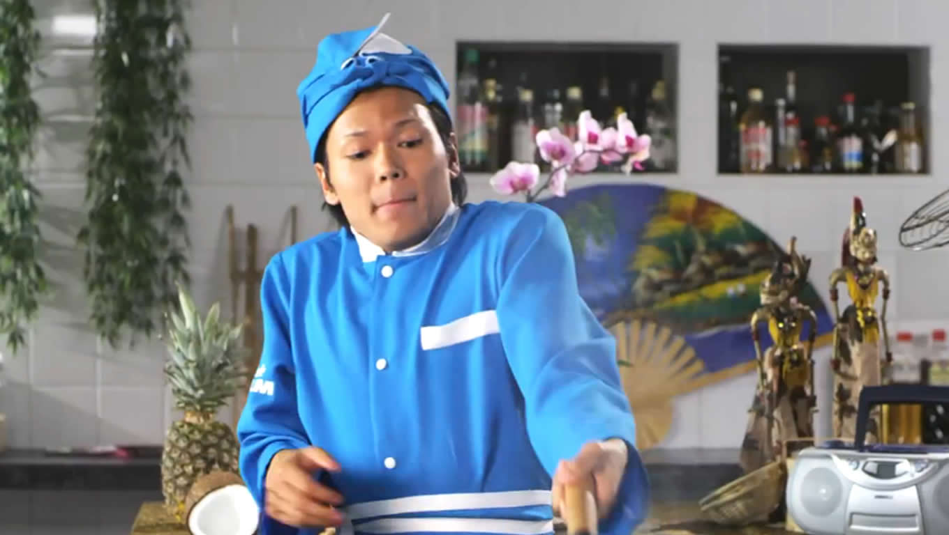 Indonesian A La Carte Meals Menu Marketing Campaign by KLM Netherlands