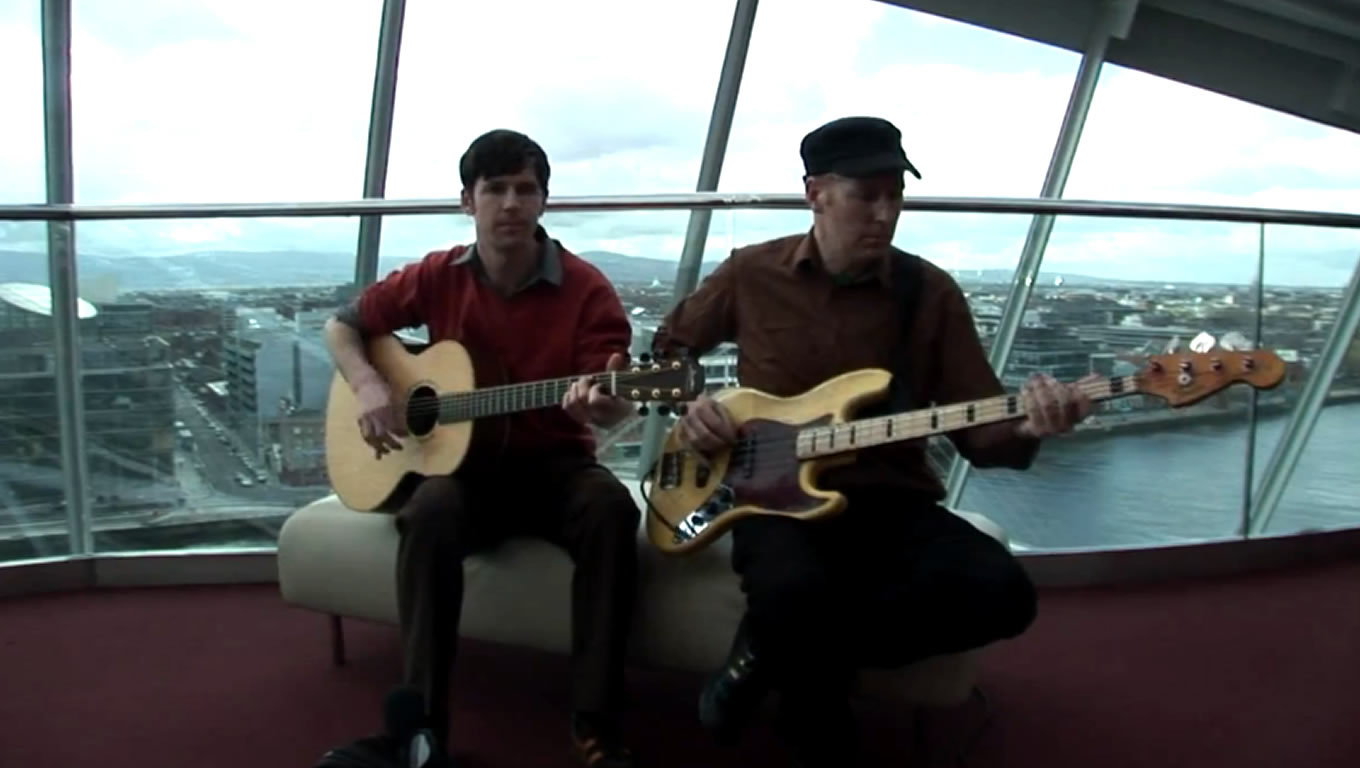 Ireland Musicians at Harmony Marketing Campaign by Emirates