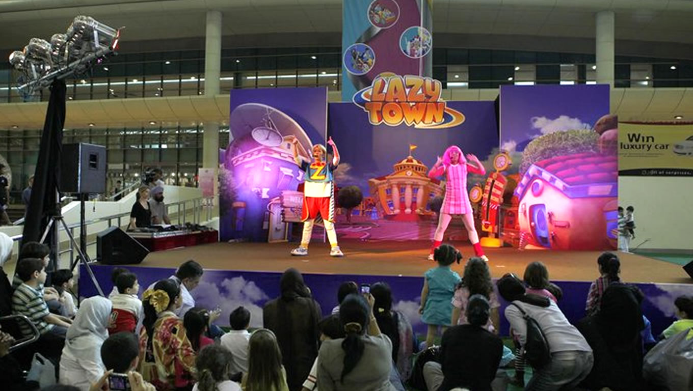 Lazy Town Kids Show at Eid in Dubai Event Celebration