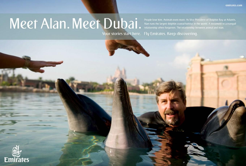 Meet Alan, Meet Dubai Advertising Campaign by Emirates