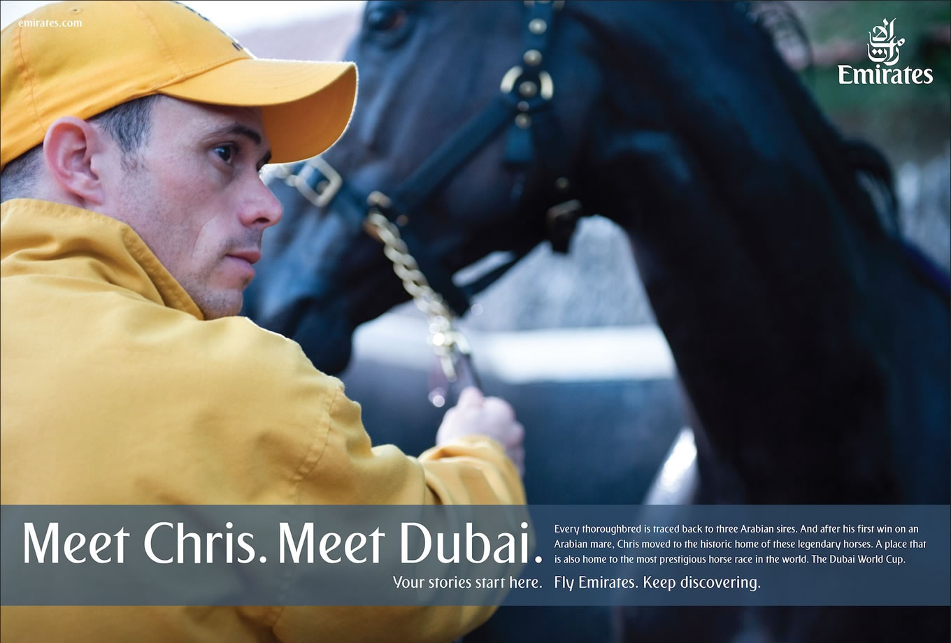 Meet Chris, Meet Dubai Advertising Campaign by Emirates