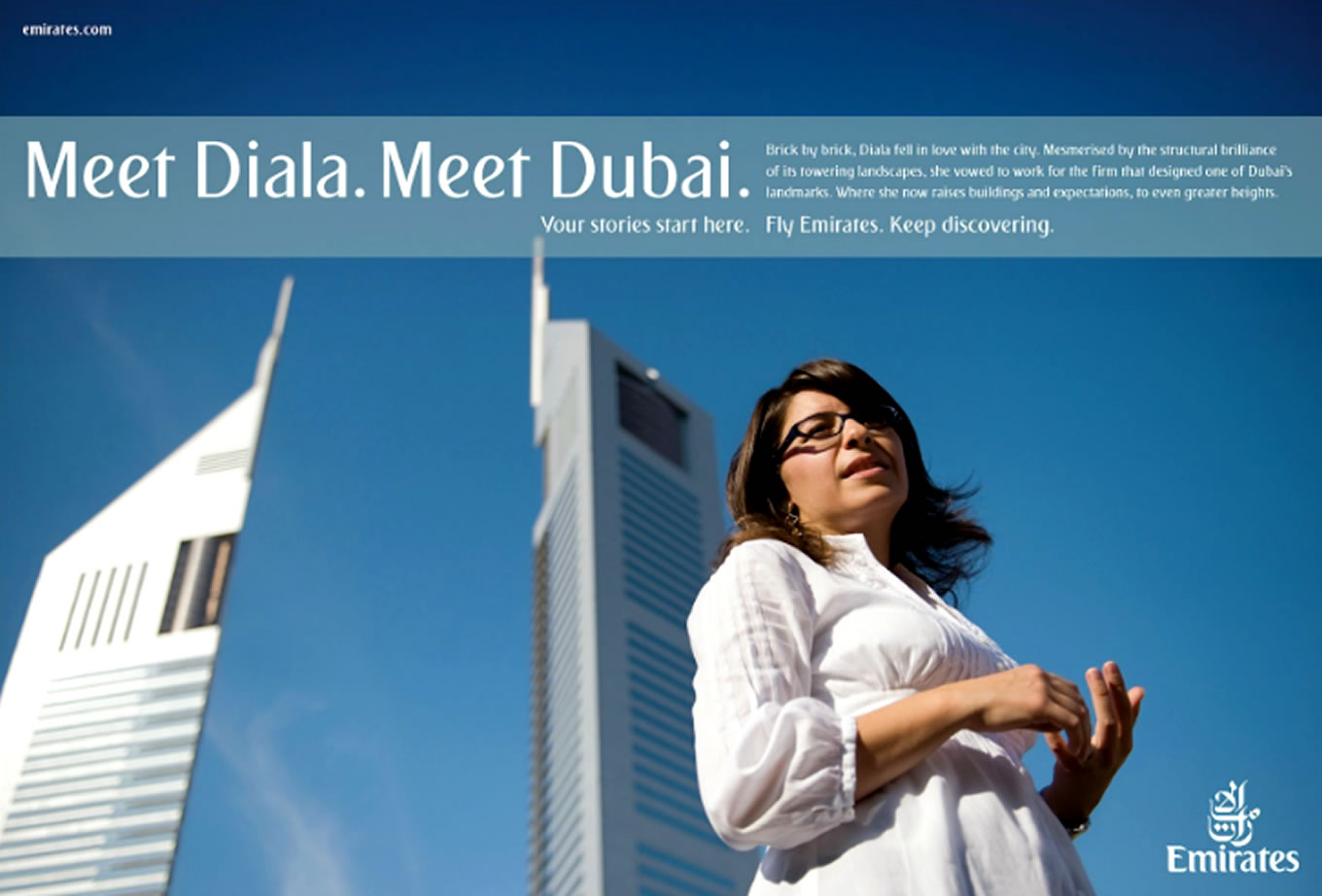 Meet Diala, Meet Dubai Advertising Campaign by Emirates