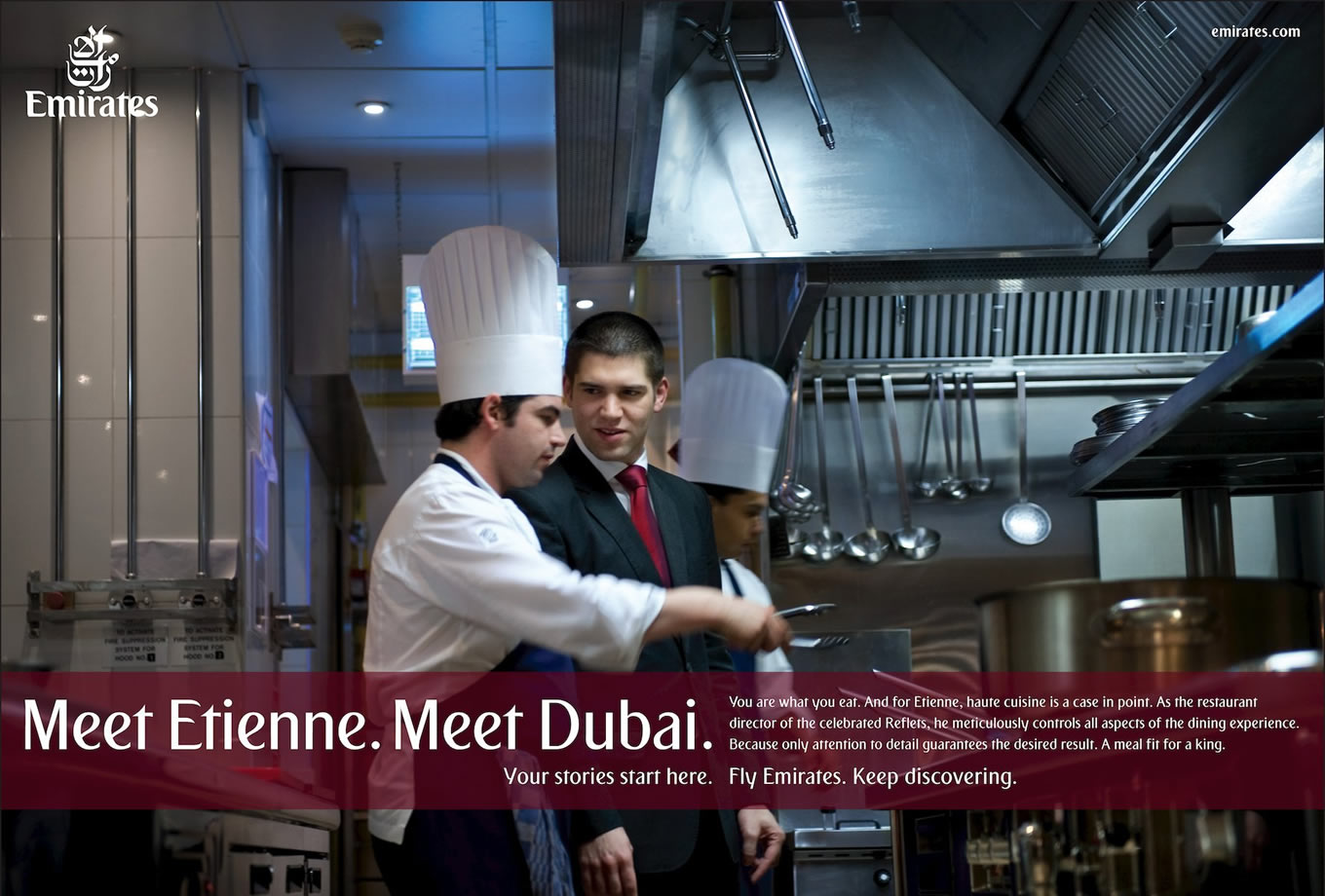 Meet Etienne, Meet Dubai Advertising Campaign by Emirates