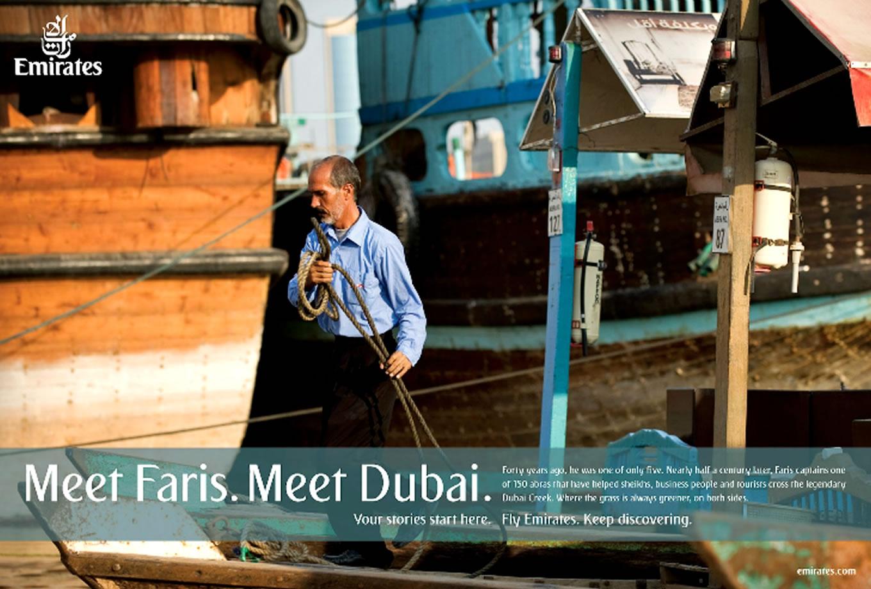 Meet Faris, Meet Dubai Advertising Campaign by Emirates