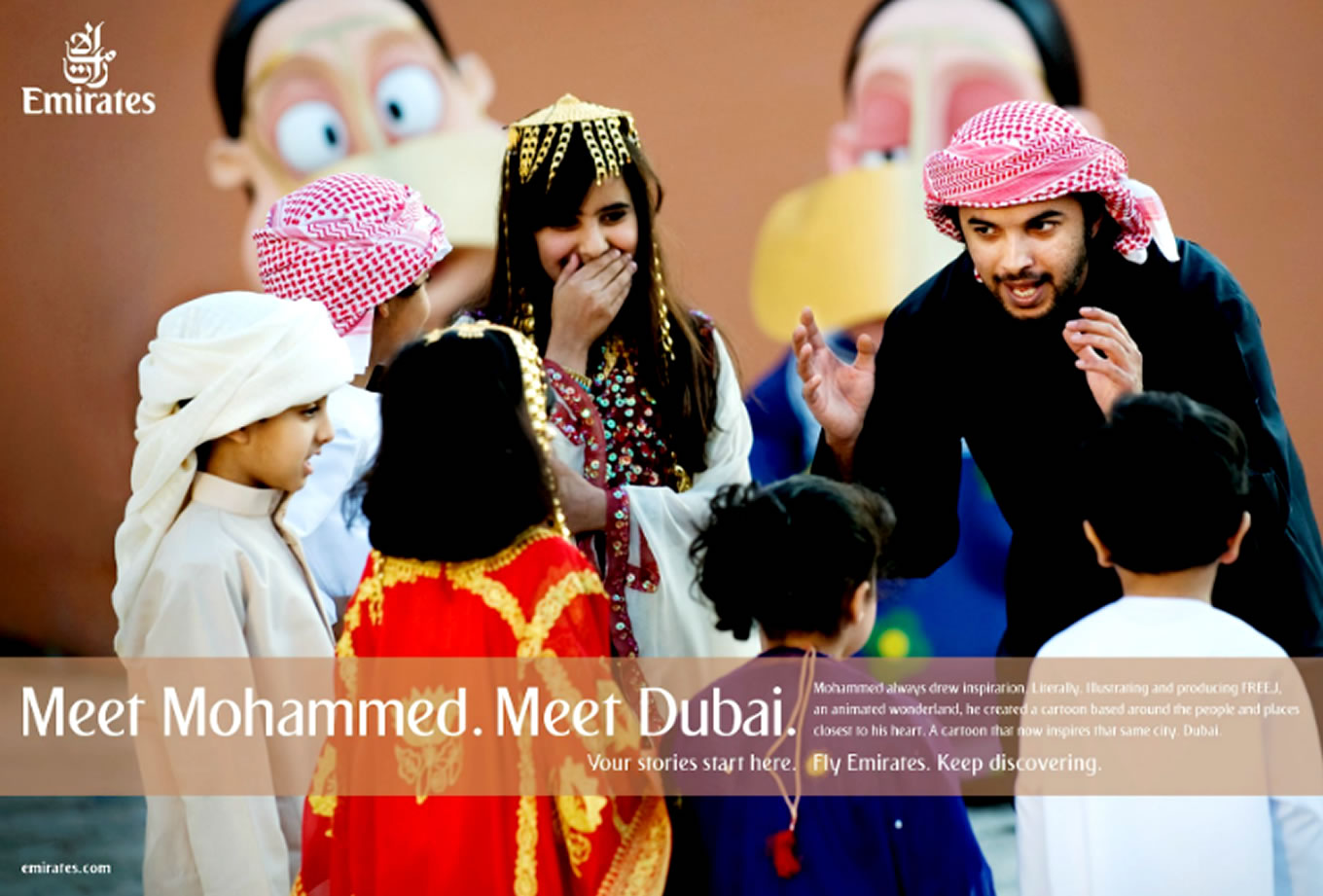 Meet Mohammed, Meet Dubai Advertising Campaign by Emirates