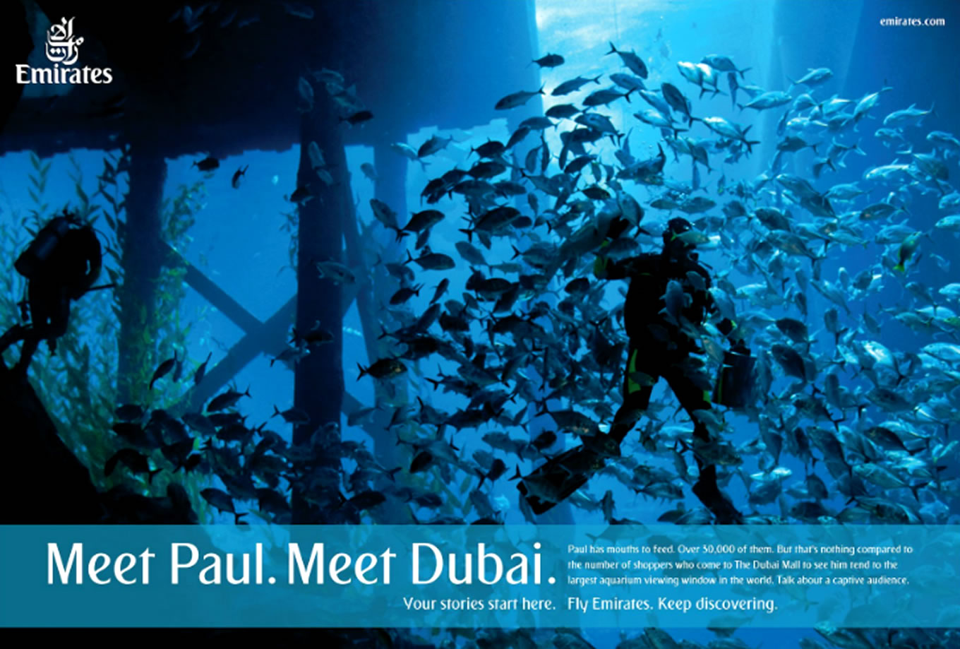Meet Paul, Meet Dubai Advertising Campaign by Emirates
