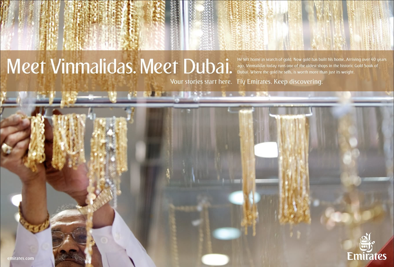 Meet Vinmalidas, Meet Dubai Advertising Campaign by Emirates
