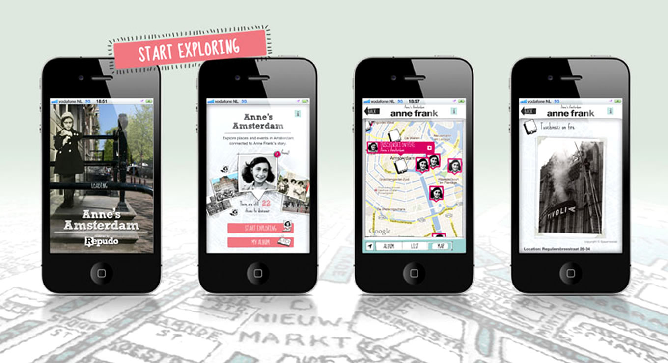Mobile Campaign Anne Frank House Museum, Amsterdam