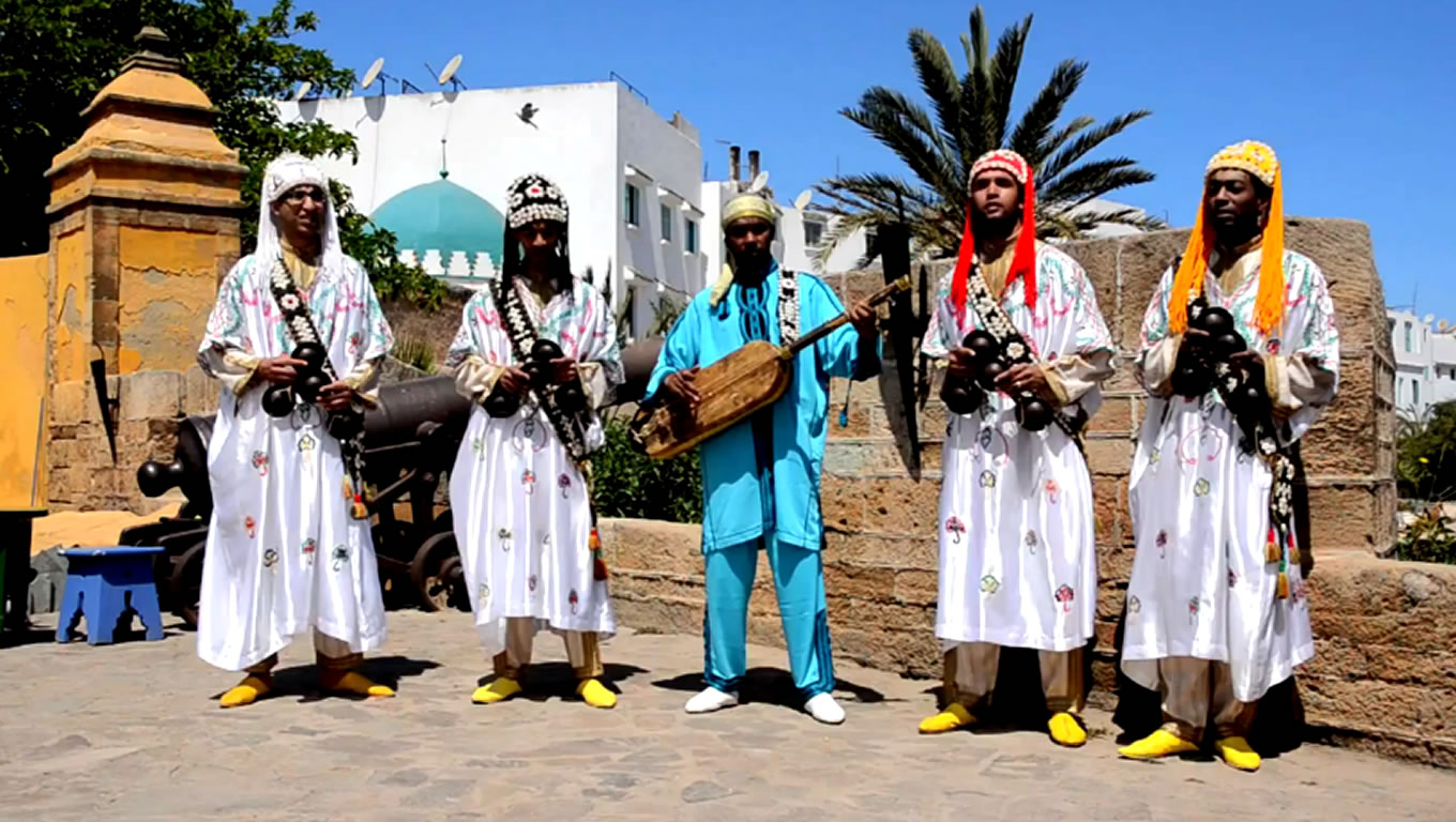 Moroccan Musicians at Harmony Marketing Campaign by Emirates