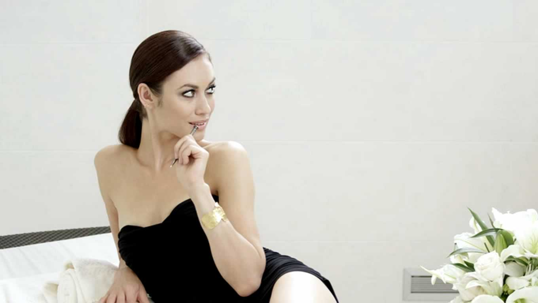 Olga Kurylenko as Alexandra at The Stories Begin Here Campaign by Waldorf Astoria