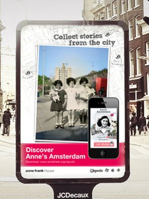 Outdoor Poster Design of Anne Frank House Museum Campaign, Amsterdam