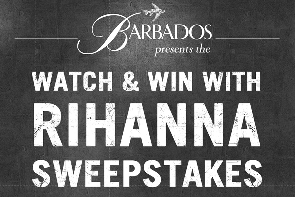 Rihanna Facebook Page Sweepstakes Contest for Barbados Tourism Marketing Campaign by BTA