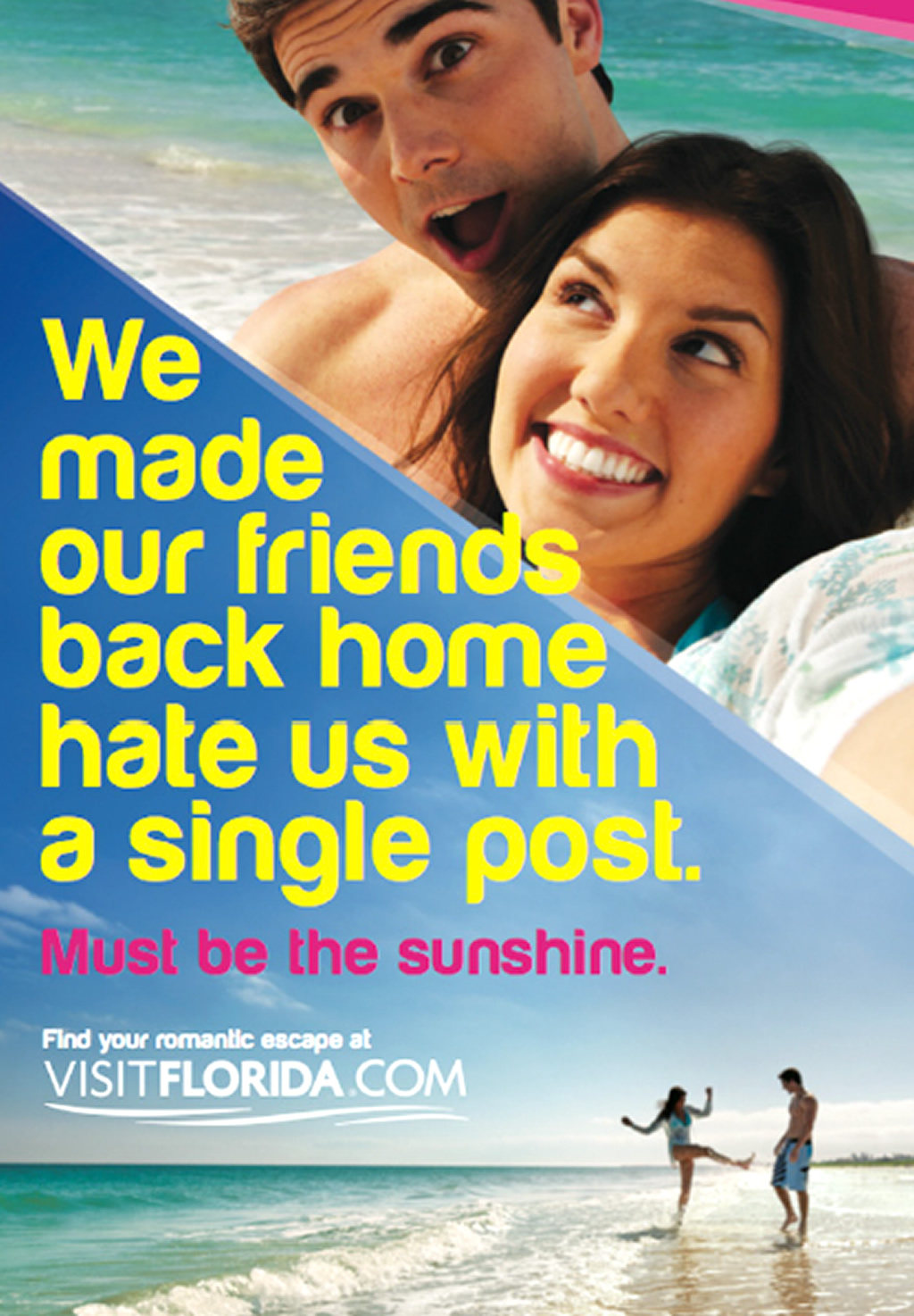 Romantic Escape, Print Ads of Tourism Brand Marketing Campaign by Visit Florida