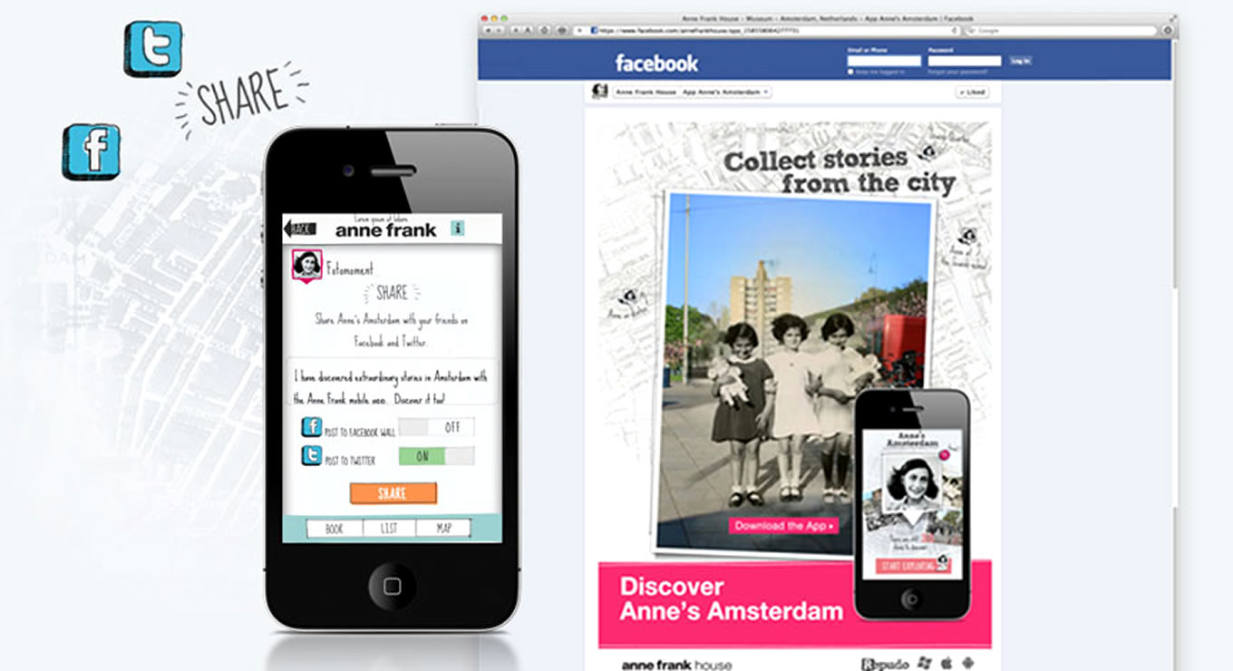 Social Media Buzz Anne Frank House Museum Campaign, Amsterdam